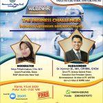 Materi dan Foto Kegiatan Webinar The Business Challenges